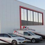 Het nieuwe gebouw van KV Techniek