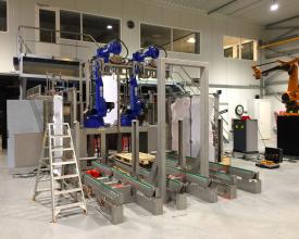 Robotisering | palletiseer lijn