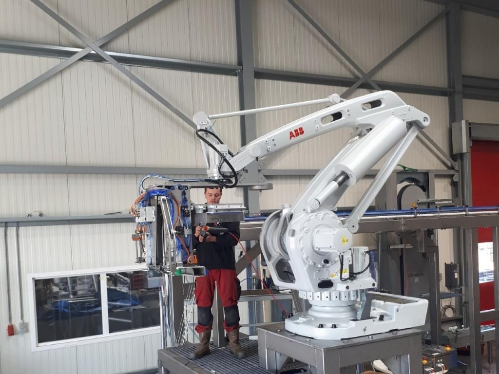 KV-Techniek en ABB Robotics