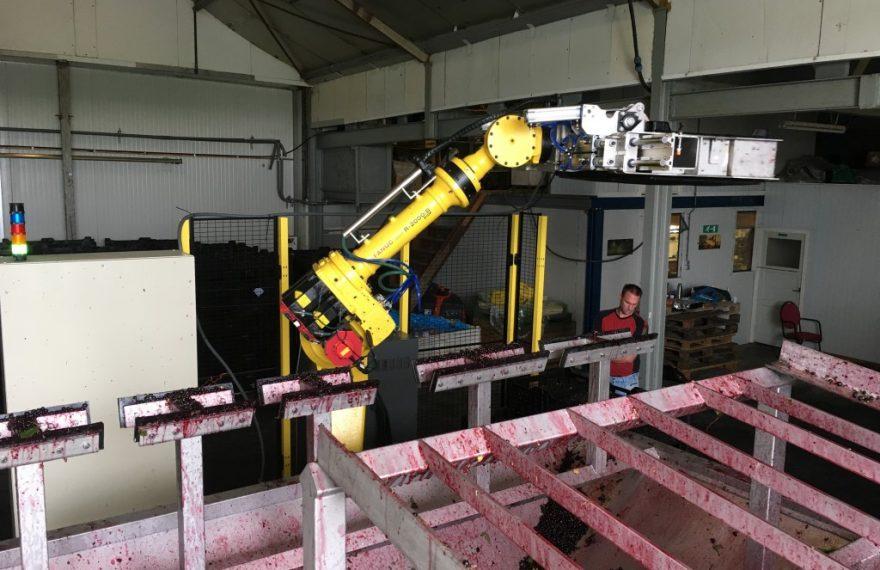 Depalletiseer robot