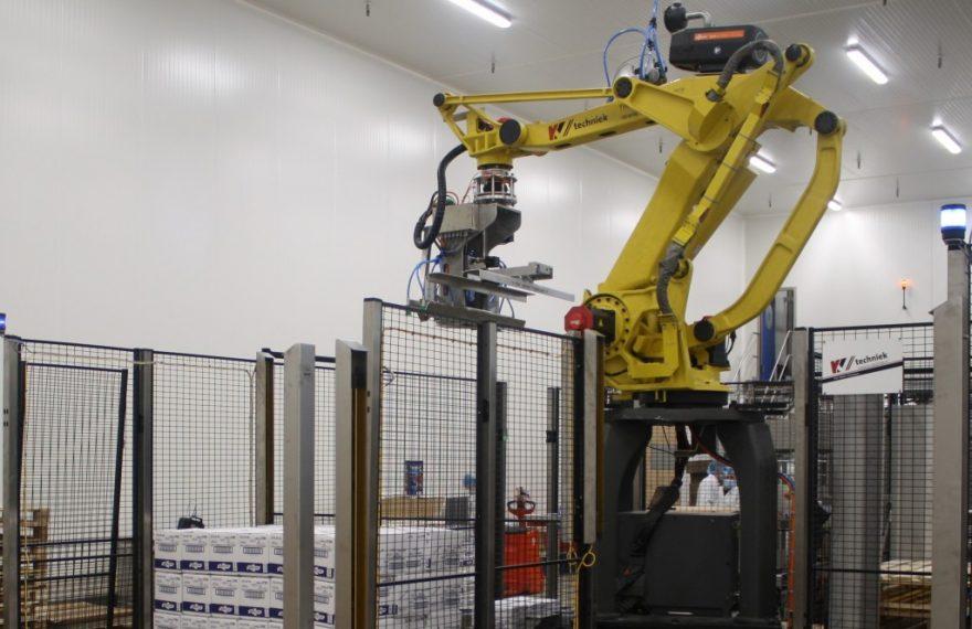 palletiseer robot