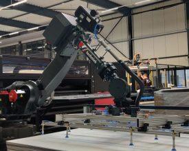 Robot bij Afga printer